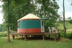 Christmas yurt