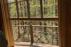 New yurt window